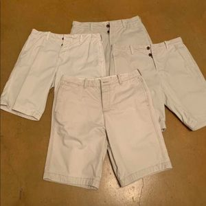 Kaki Button Fly Shorts Hollister & Abercrombie